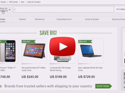 Ako nakupovať na eBay