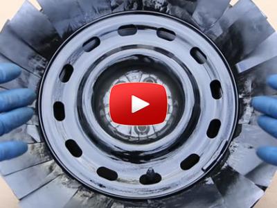 Ako nastriekať disky auta