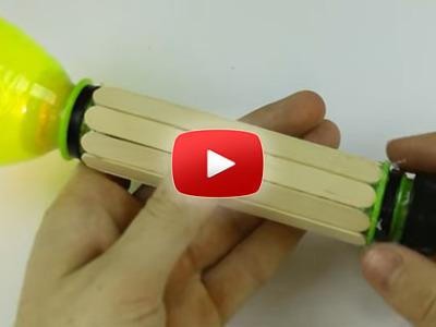 Ako spraviť baterku z plastovej fľaše