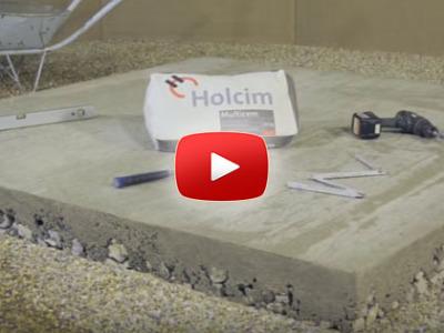 Ako spraviť betónový základ stavby