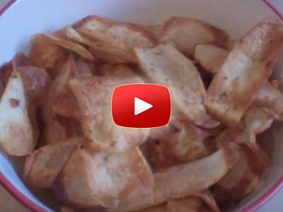 Ako spraviť domáce čipsy zo zemiakov