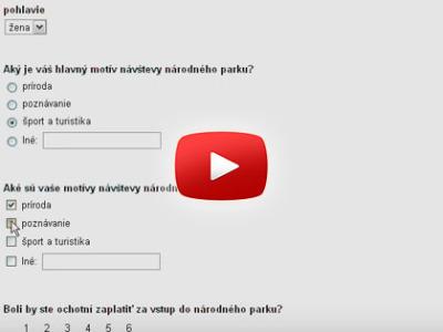 Ako spraviť dotazník v Google Docs