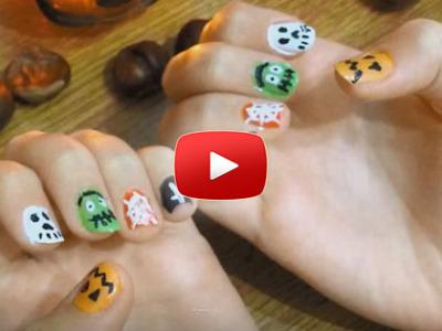 Ako spraviť halloweenské nechty