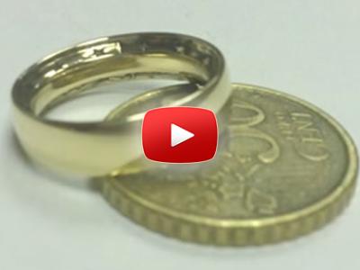 Ako spraviť prsteň z mince