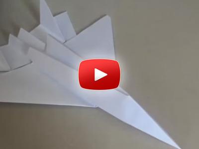 Ako spraviť stíhačku F15 z papiera