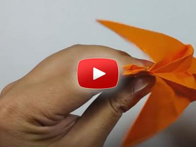 Ako vyrobiť papierového lietajúceho draka
