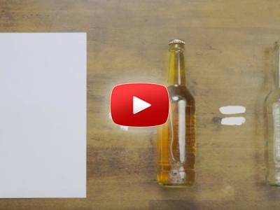 Ako otvoriť pivo s kúskom papiera