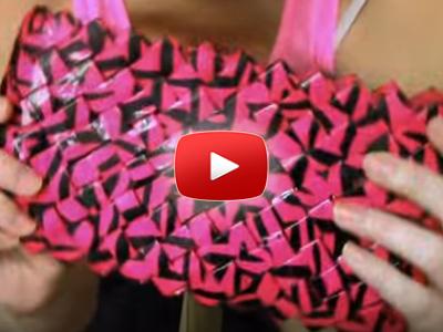 Ako spraviť kabelku z papiera