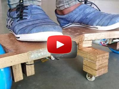 Ako spraviť Hoverboard