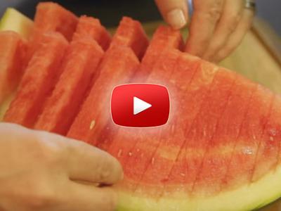 6 spôsobov, ako krájať a servírovať melón