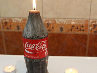 Ako spraviť Coca Cola sviečku