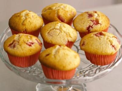 Ako spraviť jahodovo-kokosové muffiny